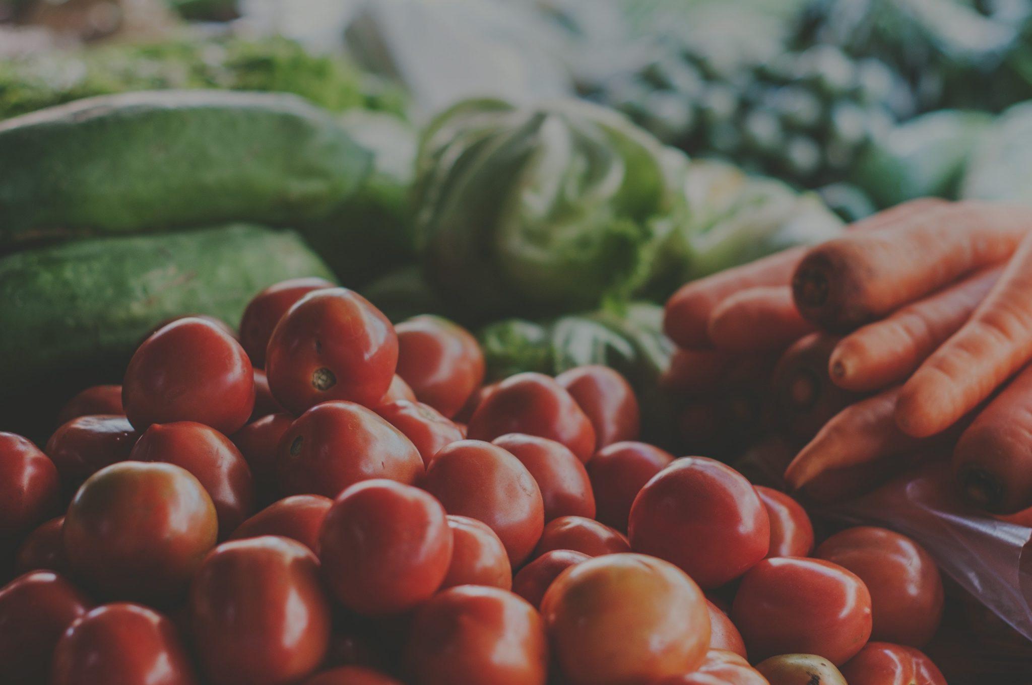 Piatti vegetariani e vegani